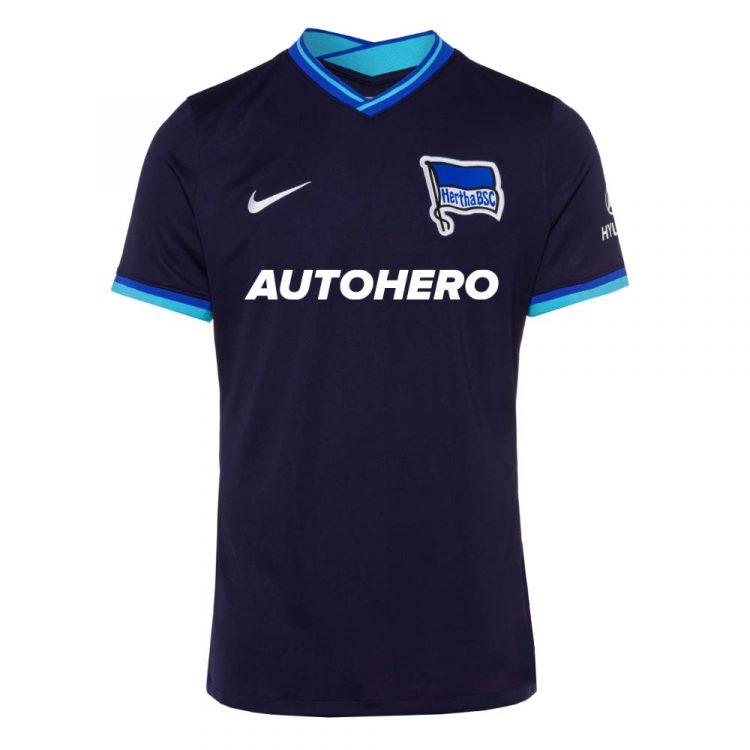 Seconda maglia Hertha Berlino 2021-2022 nera