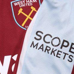 Dettaglio sponsor West Ham