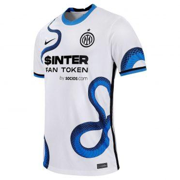 Maglia Inter away 2021-2022 con il Biscione