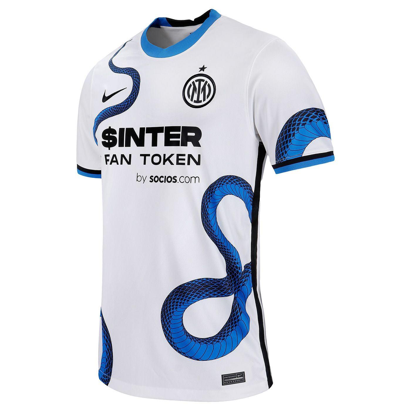 Nuova maglia Inter away 2021-2022, torna il biscione nerazzurro!