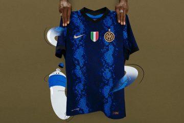 La nuova maglia dell'Inter 2021-2022