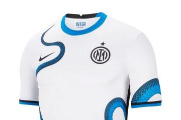 Nuova maglia Inter away 2021-2022