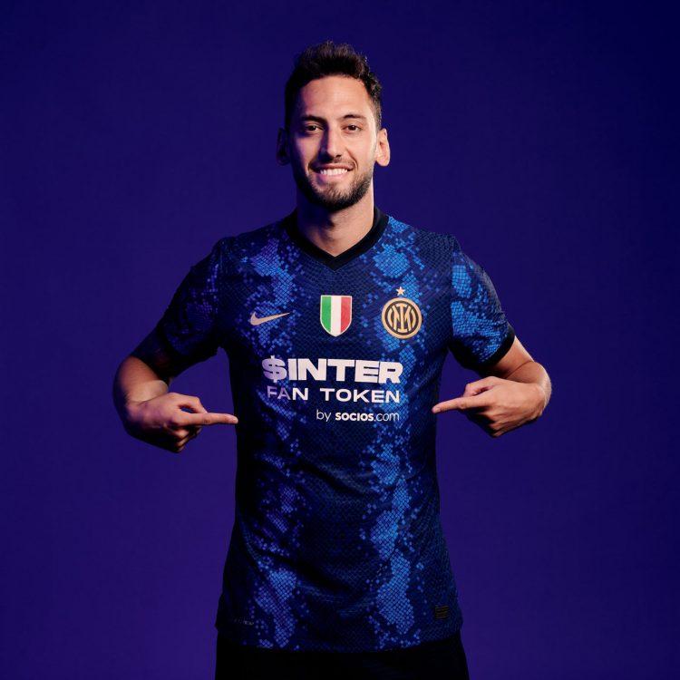 Il nuovo sponsor dell'Inter sulla maglia
