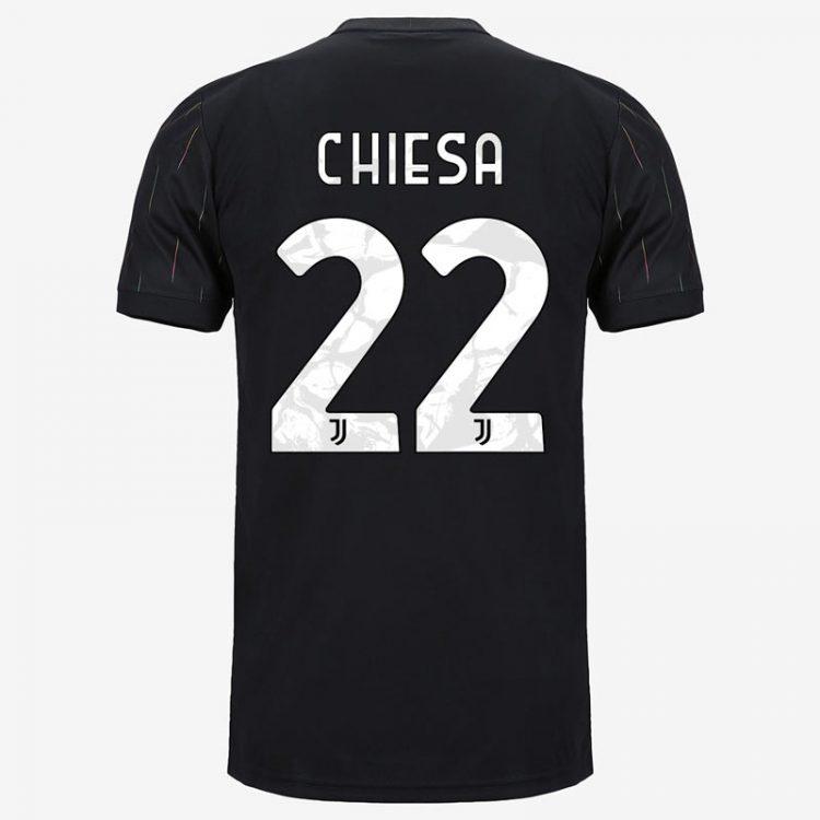 Maglia Chiesa Juventus away 2021-2022