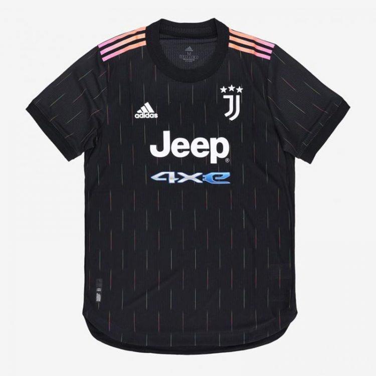 Seconda maglia Juventus 2021-2022 nera