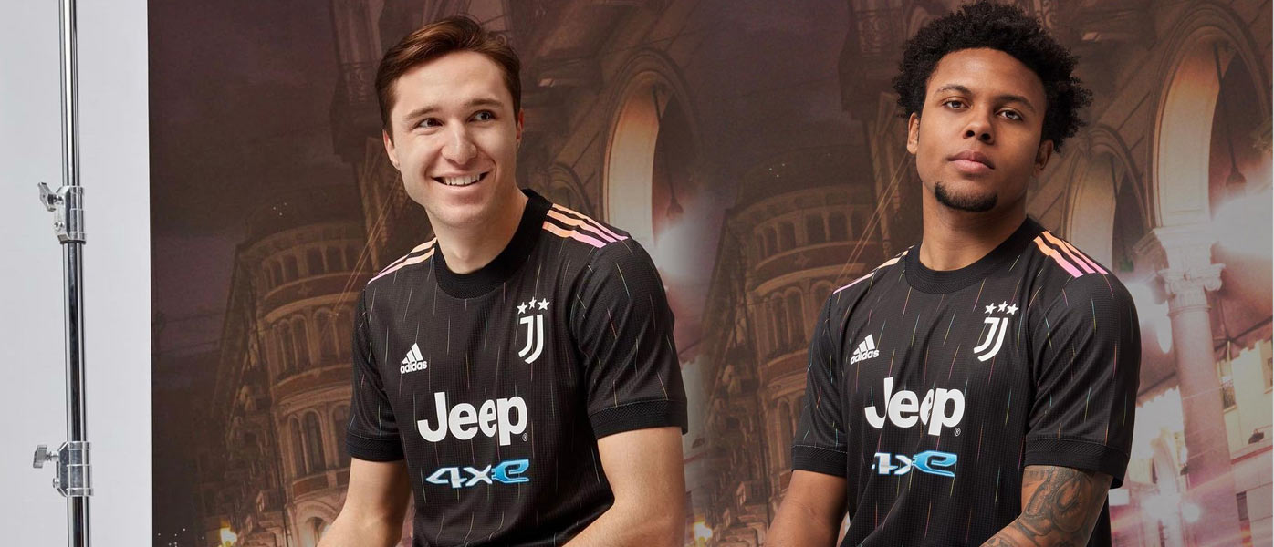 Presentazione maglia away Juventus 2021-2022