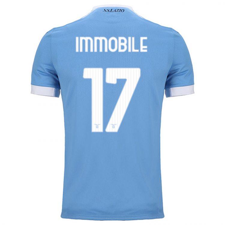 Lazio prima maglia Immobile 17