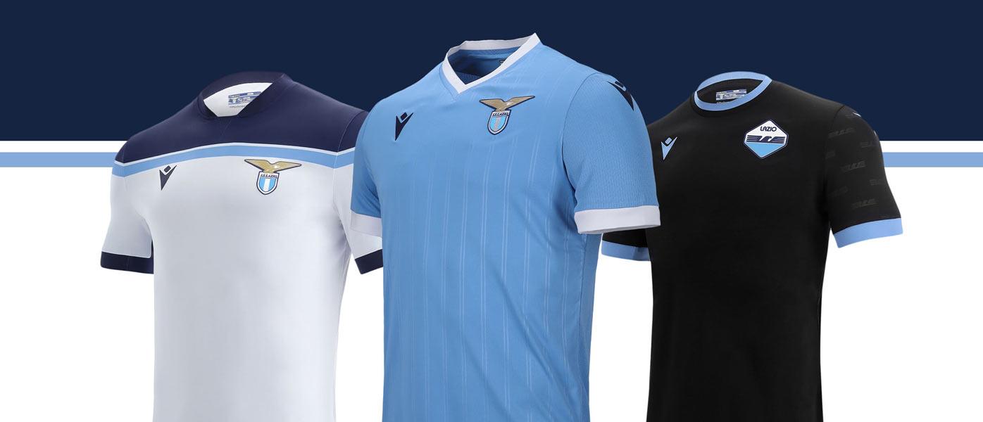 Nuove maglie Lazio 2021-2022 Macron