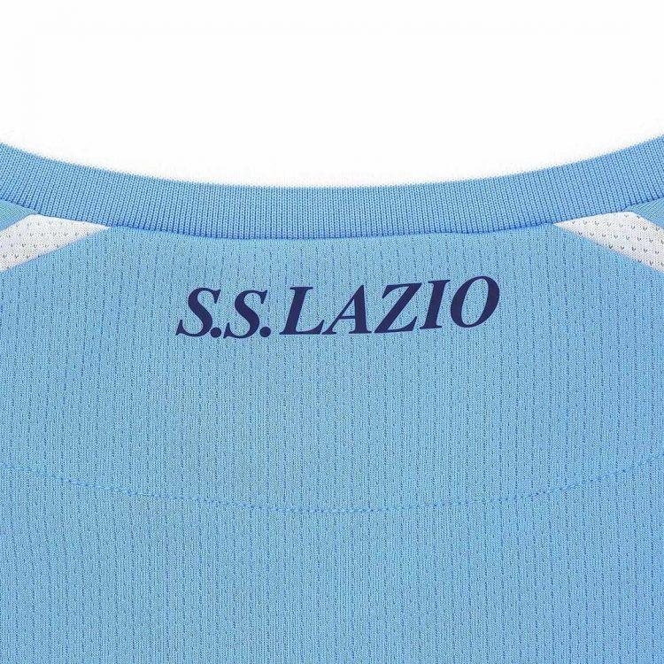 Scritta SS Lazio retro collo