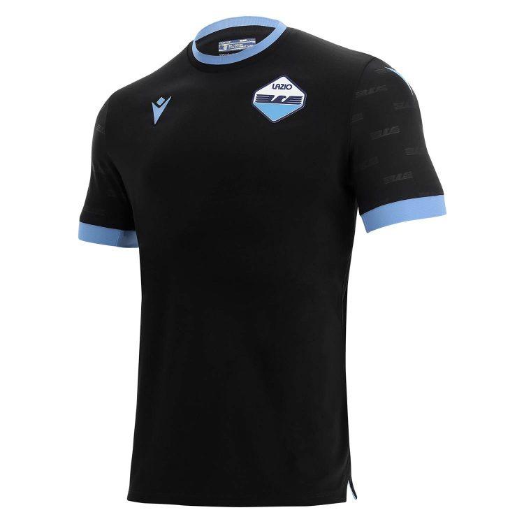 Terza maglia Lazio nera 2021-2022