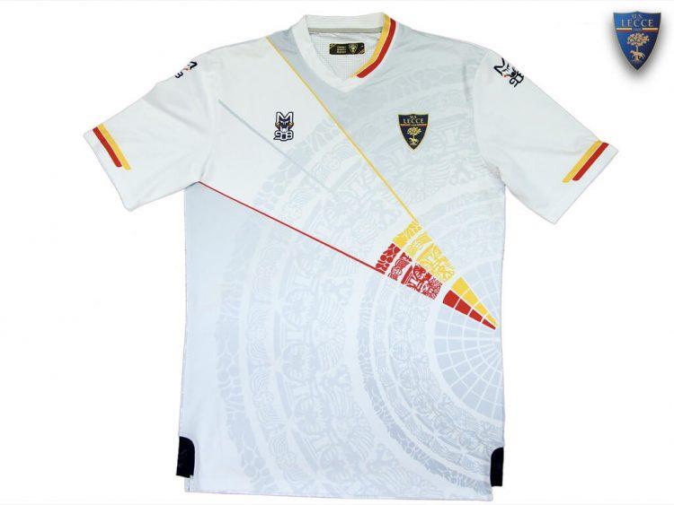 Seconda maglia Lecce 2021-2022 bianca