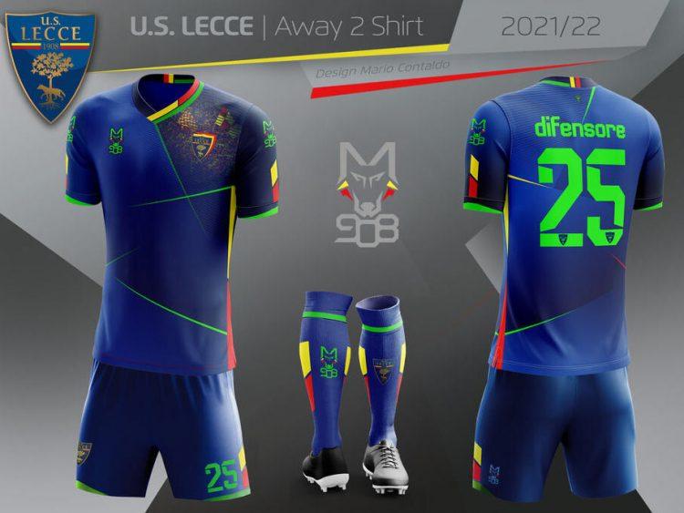 Terza maglia Lecce 2021-2022