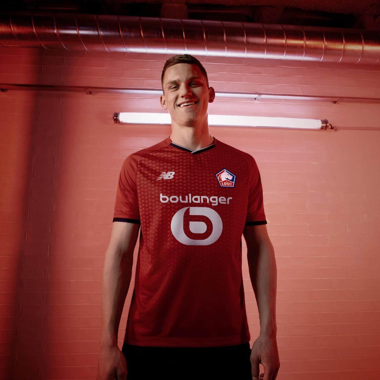 Kit home Lille 2021-2022