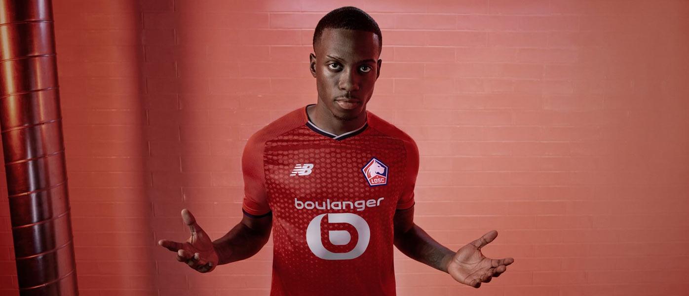 La nuova maglia del Lille 2021-2022