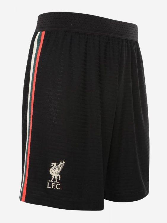 Pantaloncini Liverpool neri 2021-2022 Nike