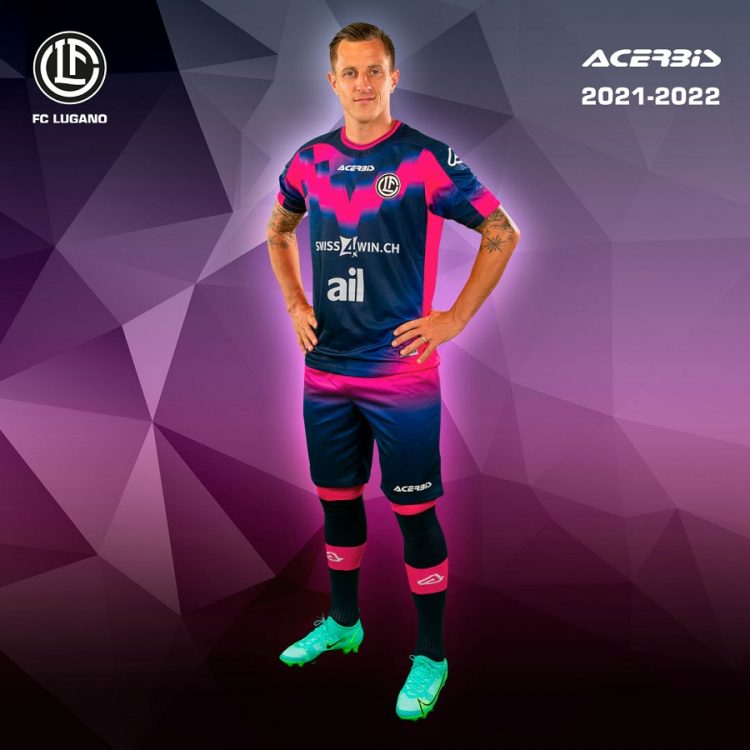 Lugano terza divisa 2021-2022