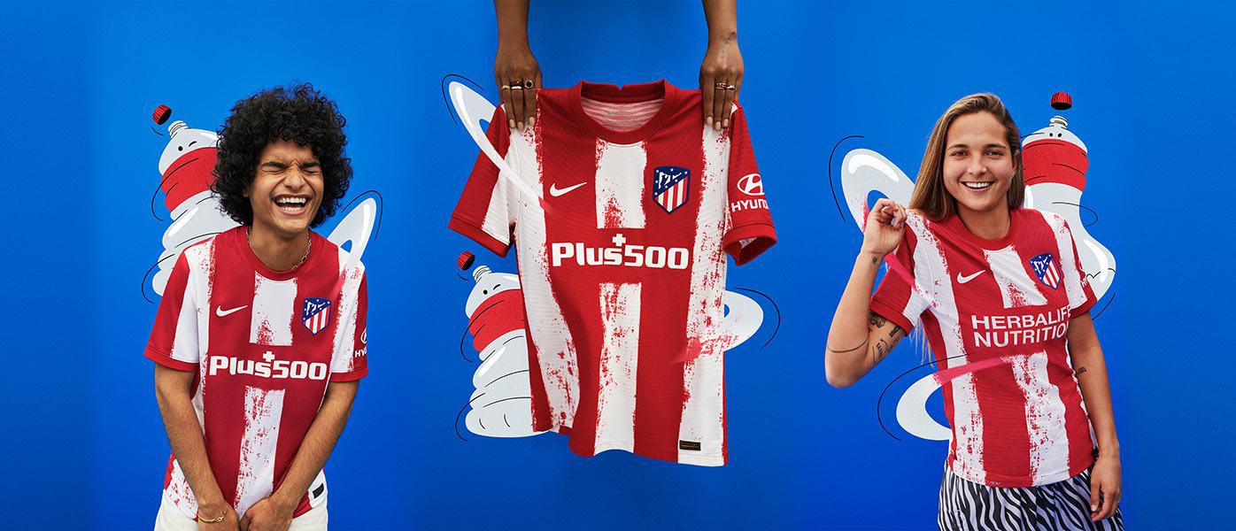 Atletico Madrid nuova maglia 2021-2022