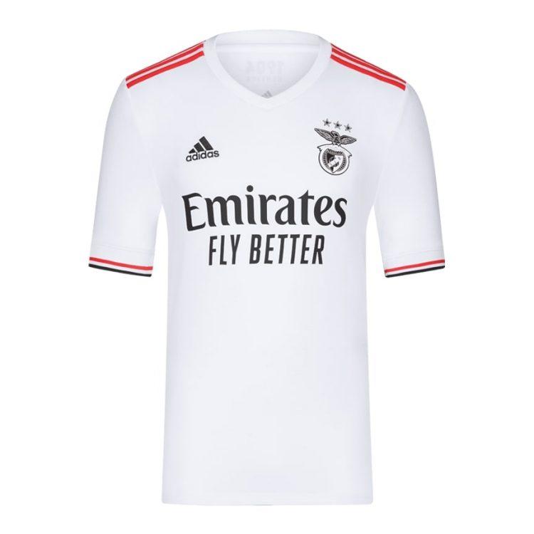 Seconda maglia Benfica bianca 2021-2022