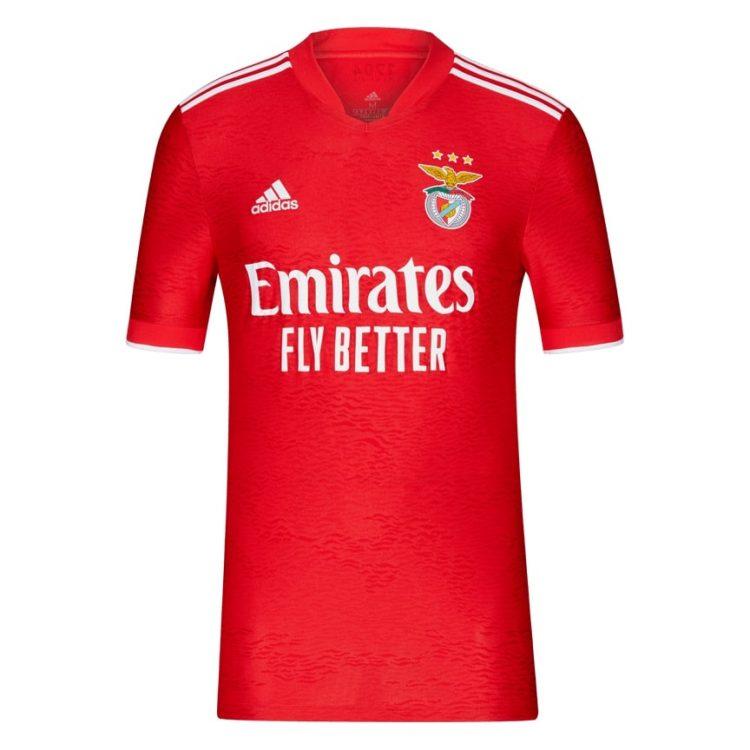 Maglia Benfica 2021-2022 fronte