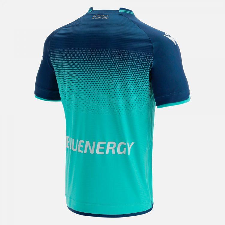 Seconda maglia Udinese 2021-2022 turchese