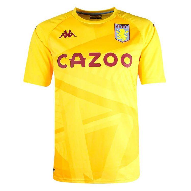 Maglia portiere Aston Villa 2021-22 gialla