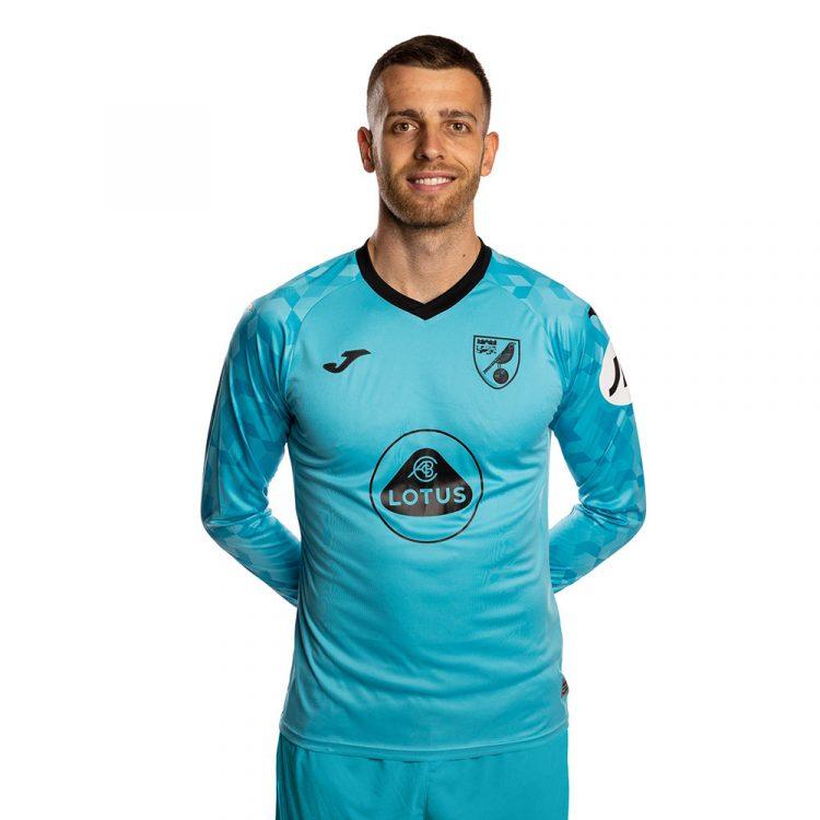 Maglia portiere Norwich 2021-2022