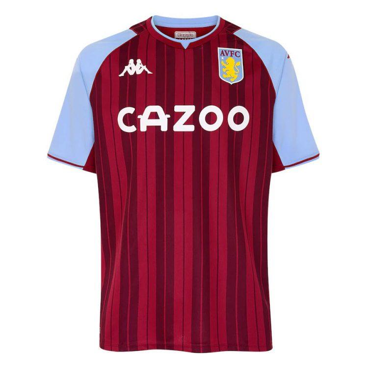 Maglia Aston Villa 2021-2022 Kappa