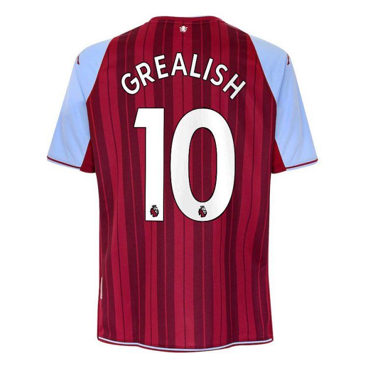 Maglia Aston Villa 2021-2022 Grealish 10