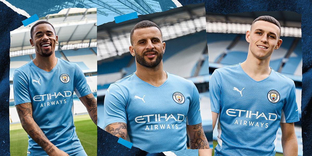 La nuova maglia del Manchester City 2021-2022 Puma