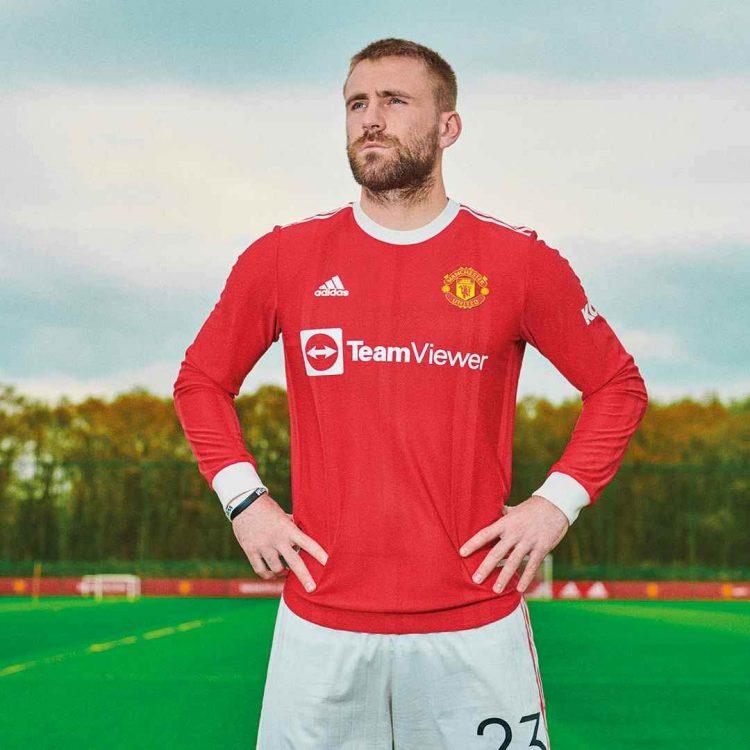 Manchester United maglia maniche lunghe