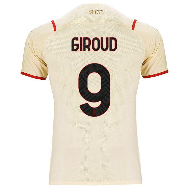 Maglia Milan trasferta Giroud 9