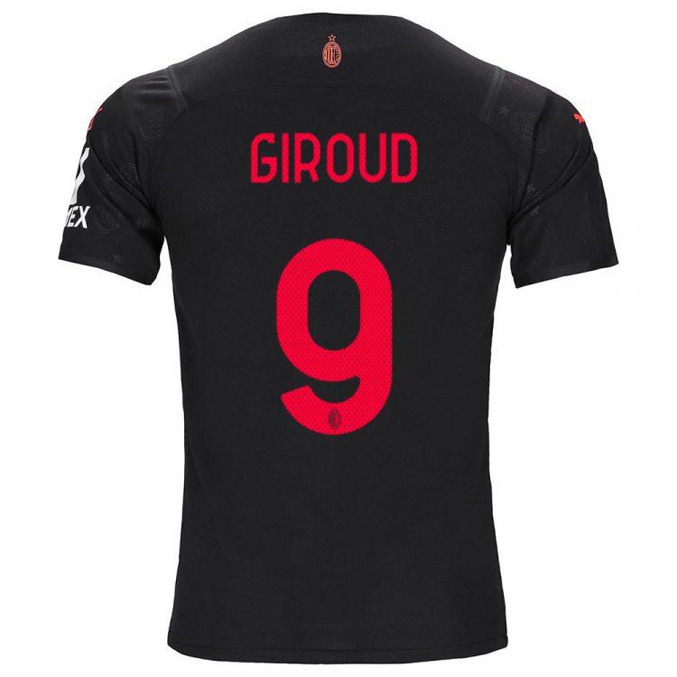 Milan terza maglia Giroud 9