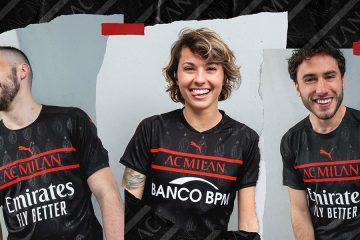 La nuova terza maglia del Milan 2021-2022