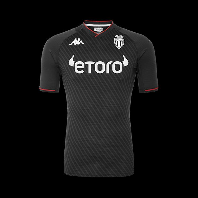 Seconda maglia Monaco 2021-2022 antracite