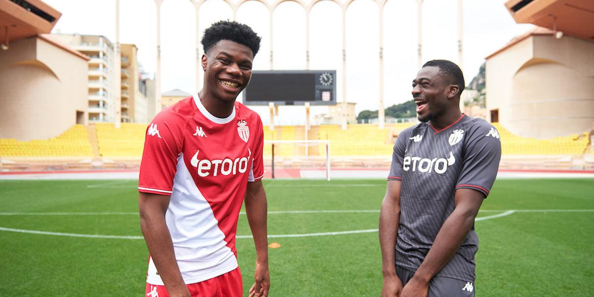 Le nuove maglie del Monaco 2021-2022