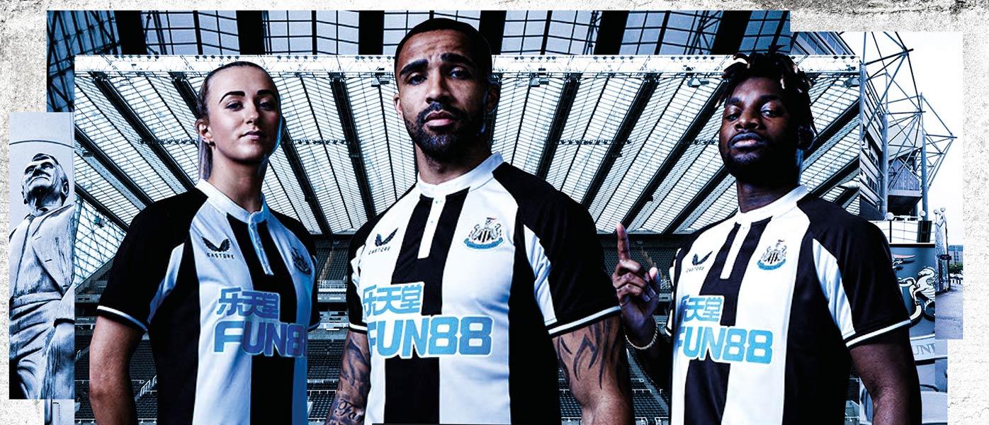 La nuova maglia del Newcastle 2021-2022 Castore