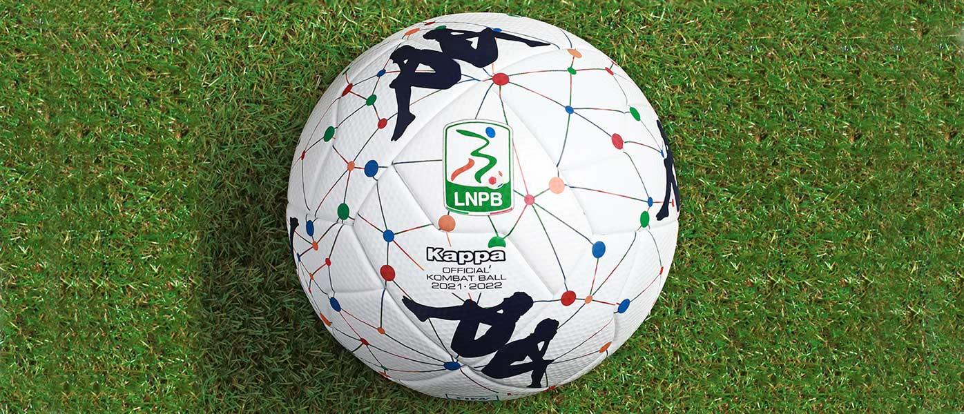 Il nuovo pallone della Serie B 2021-2022 Kappa