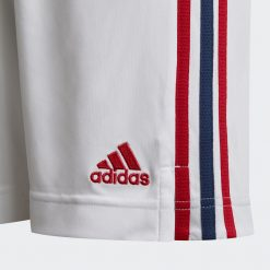 Dettaglio strisce pantaloncini Arsenal