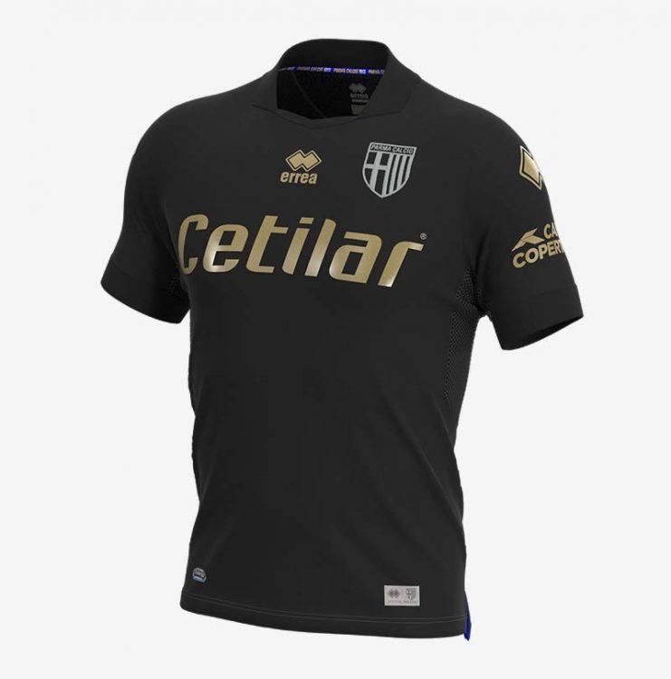 Terza maglia Parma nera 2021-22