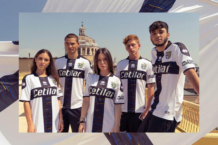 Campagna lancio maglie del Parma 2021-2022