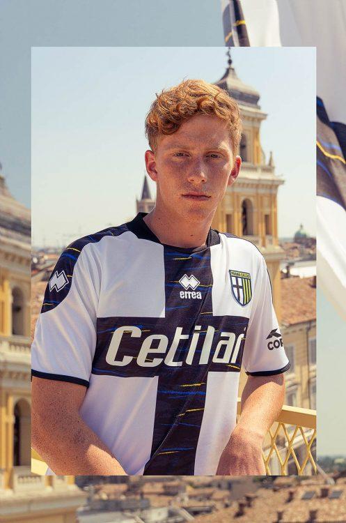 Maglia Parma crociata Erreà Serie B