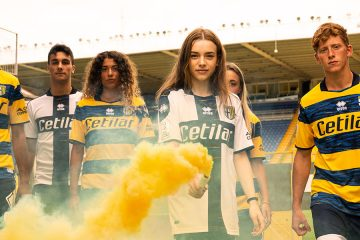 Le nuove maglie del Parma 2021-2022