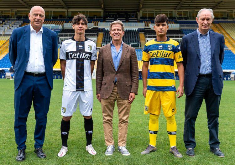 Presentazione maglie Parma 2021-22 al Tardini