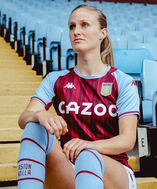 Aston Villa nuova divisa Kappa