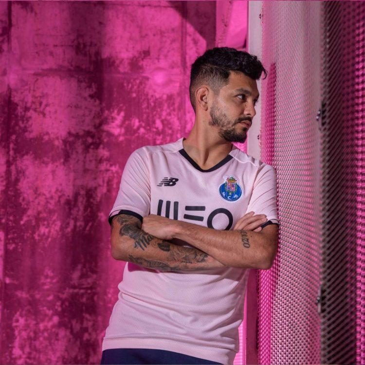 Porto terza maglia rosa 2021-2022