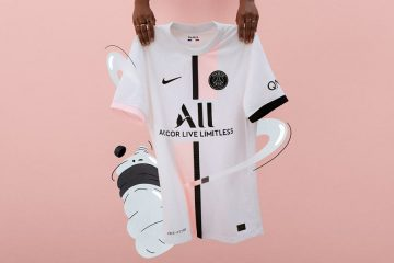 Nuova maglia away PSG 2021-2022