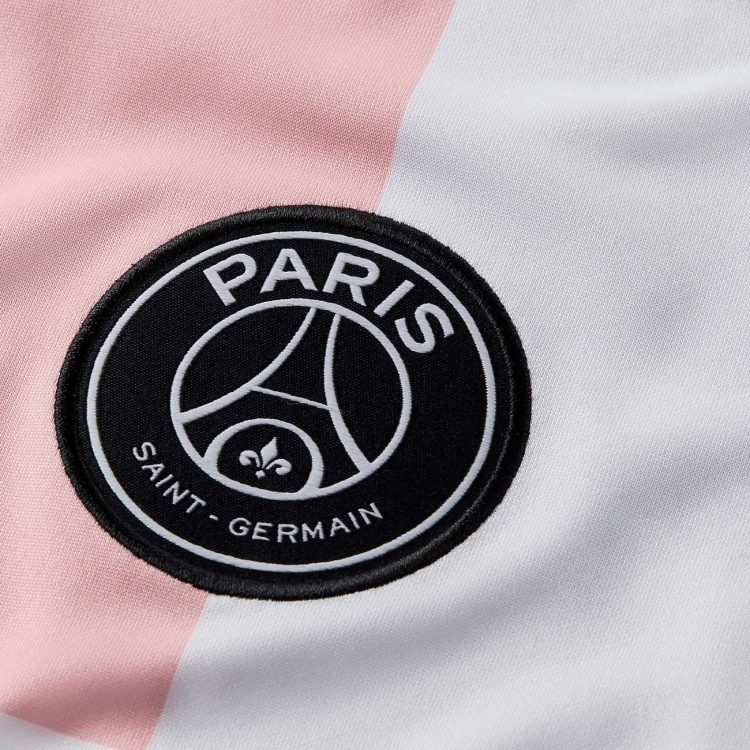 Lo stemma del PSG nero e bianco