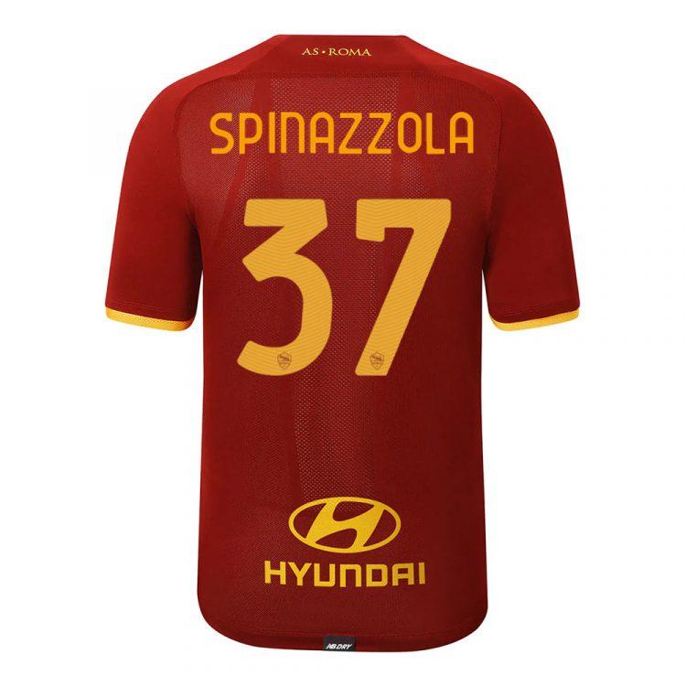 Prima maglia Roma Spinazzola 37