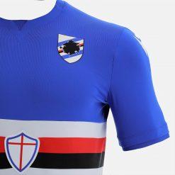 Dettaglio nuova maglia Samp 2022