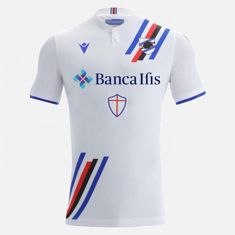 Seconda maglia Sampdoria 2021-2022 Macron